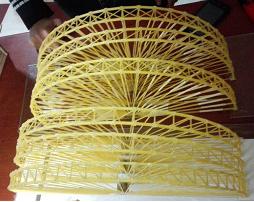سازه های ماکارونی رشته ای کلفت