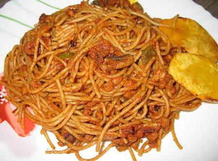 میزان مصرف اسپاگتی در کشور