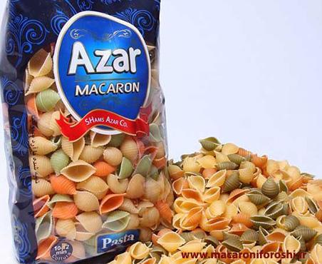 فروش انواع ماکارونی آذر