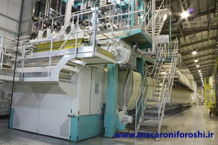 کارخانه تولید ماکارونی انسی