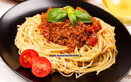 فروش عمده انواع اسپاگتی در بازار