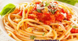 فروش عمده ماکارونی رشته ای اسپاگتی درجه یک