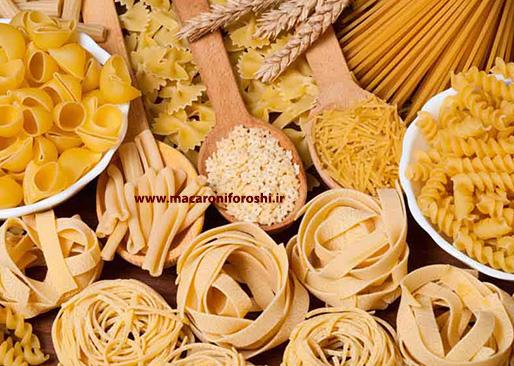 تولید ماکارونی در طرح های متنوع