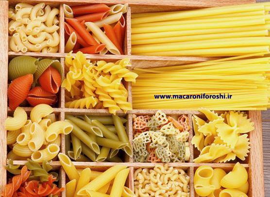 خرید عمده ماکارونی اسپاگتی قم